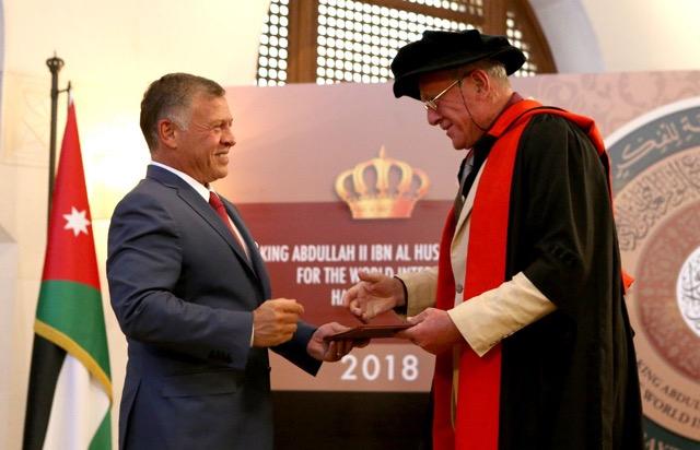 2018 King Abdullah and Dr N. Coleman