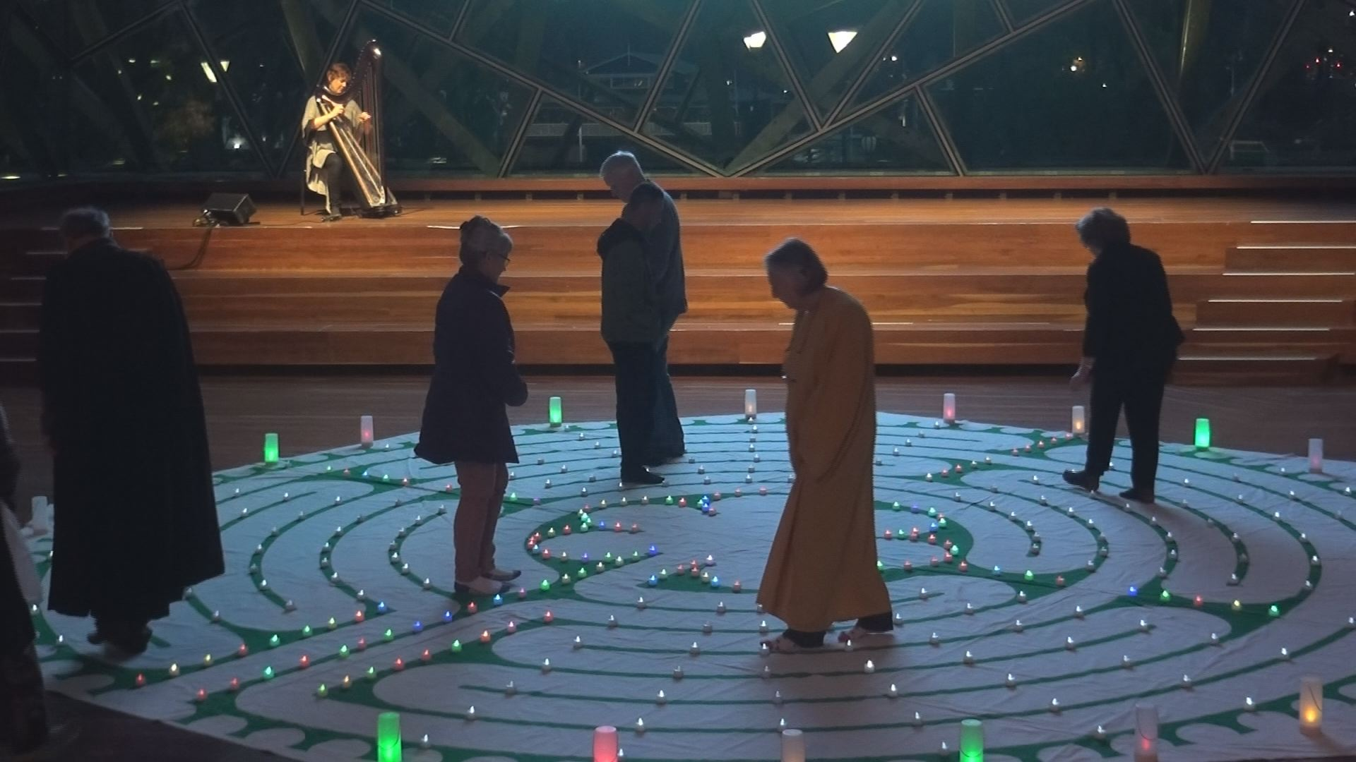 United Nations International Day of Peace – Walking Together for Inner and Outer Peace on the timeless path of the labyrinth