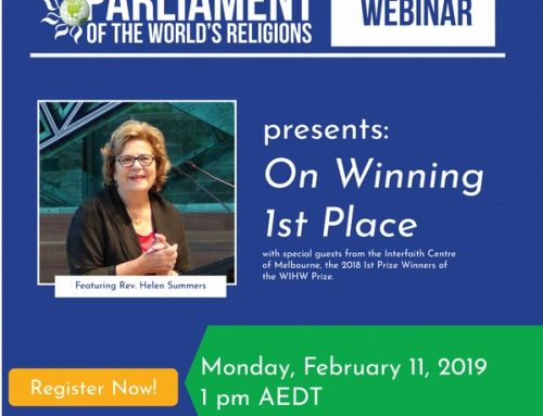 Webinar Series – On Winning 1st Place