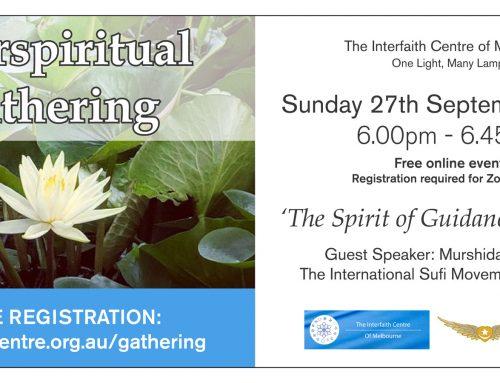 Interspiritual Gatherings